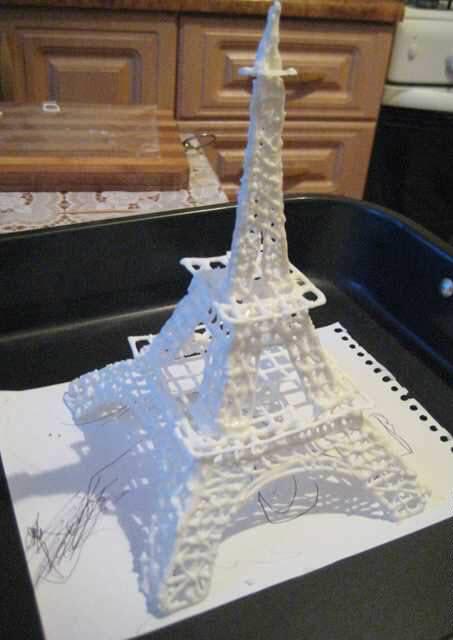 Эйфелева башня из шоколада своими руками