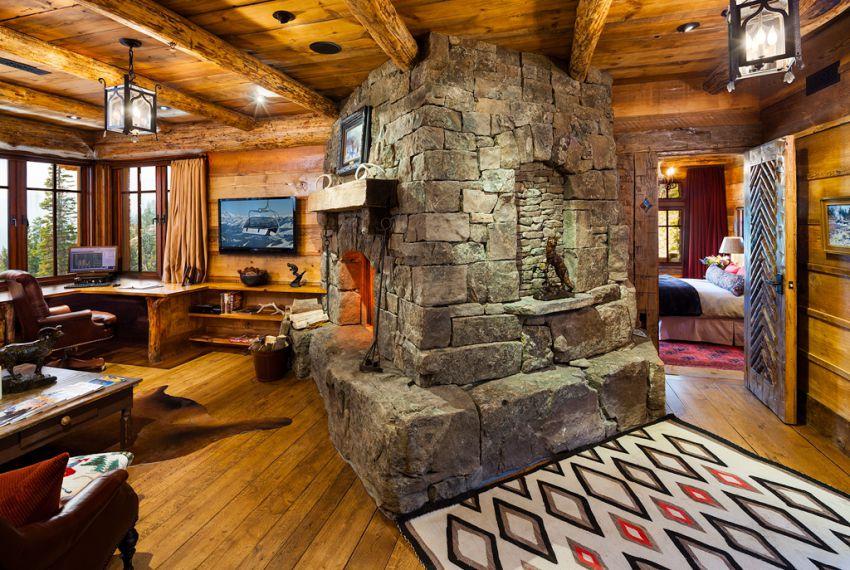 Интерьеры норвежских деревянных домов