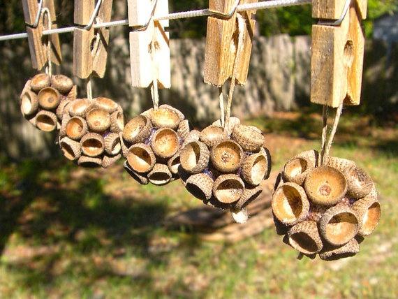 Самодельные украшения елки