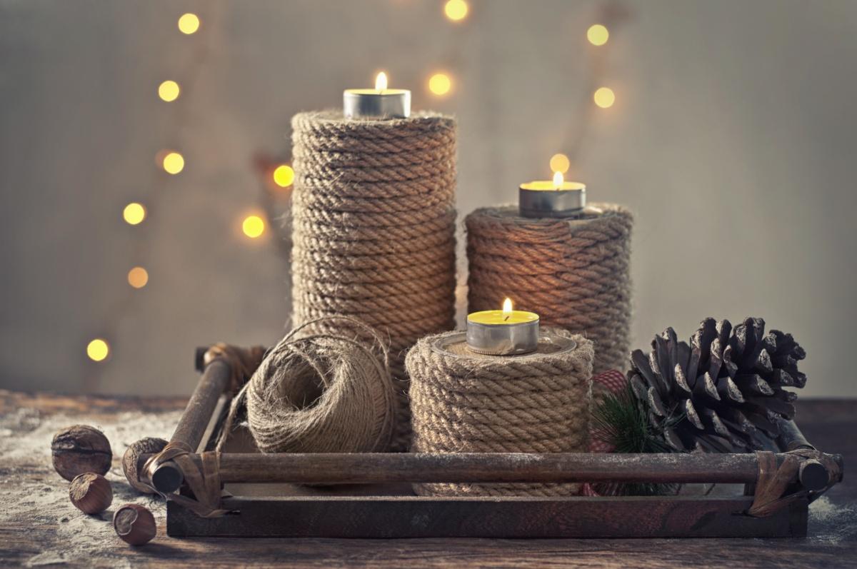 Подставка свечей своими руками фото