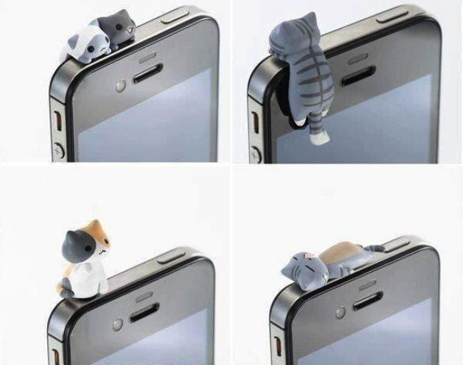 Как сделать заглушки для телефона своими руками