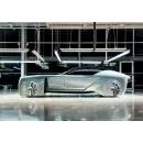 Роскошный автомобиль будущего от Rolls-Royce.